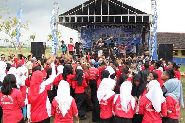 Meriahnya Harlah ke 2 th SMK Nusa Mandiri