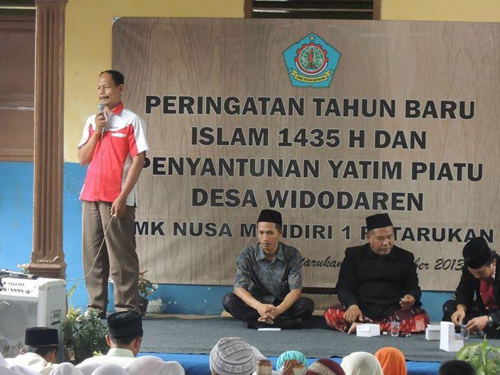 PERINGATAN TAHUN BARU ISLAM 1435 DAN SANTUNAN YATIM PIATU