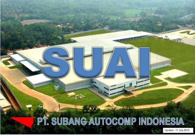 LOWKER PT SUBANG AUTOCOMP INDONESIA