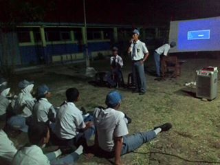 Latihan Dasar Kepemimpinan Siswa (LDKS) OSIS  SMK Nusa  Mandiri