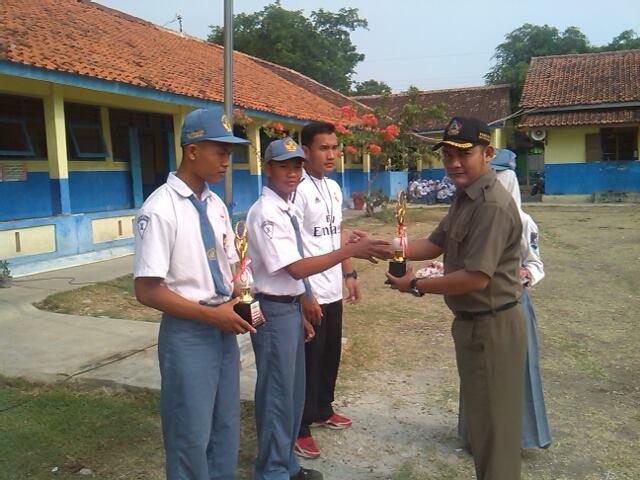 SMK Nusa Mandiri berhasil meraih Juara di Popda 2014