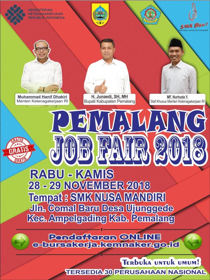 SMK Nusa Mandiri gelar Job Fair 2018, Banyak Lowongan Pekerjaan