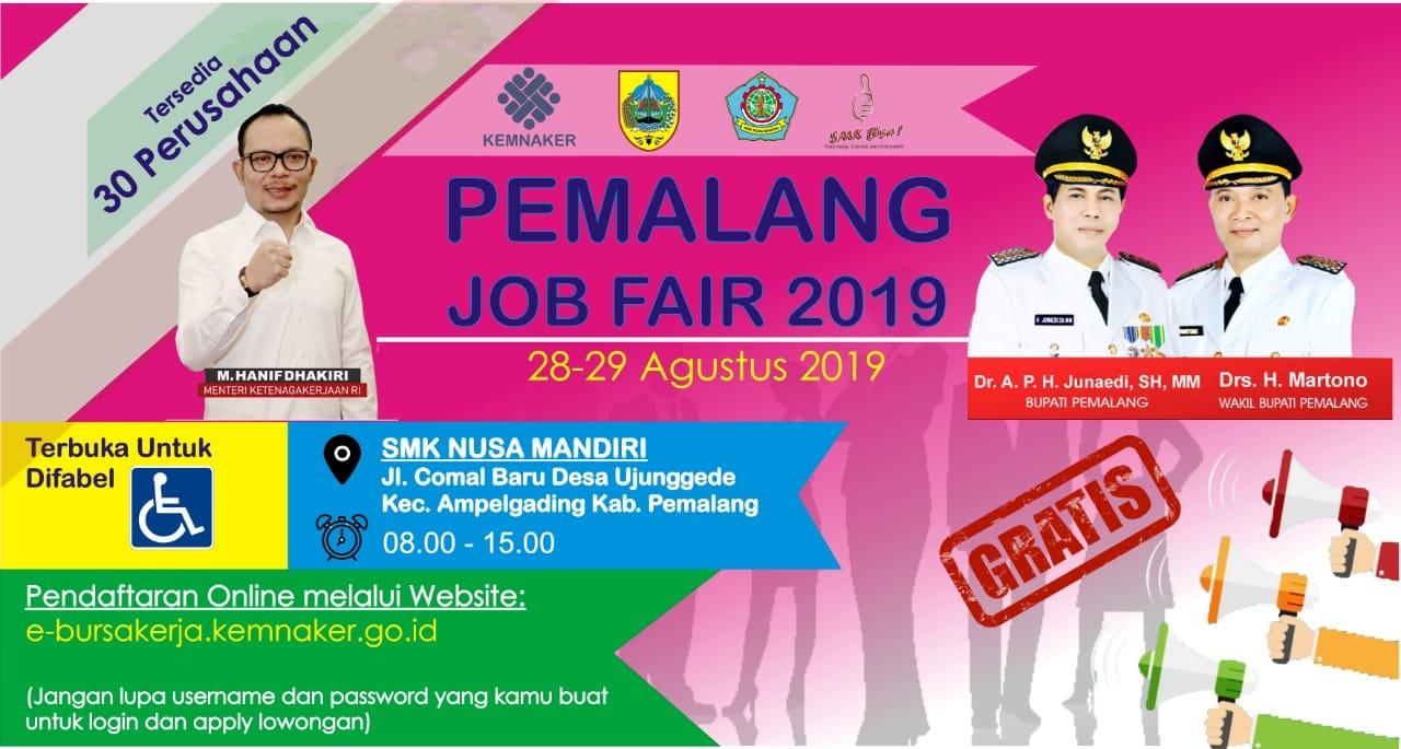 PEMALANG JOB FAIR 2019