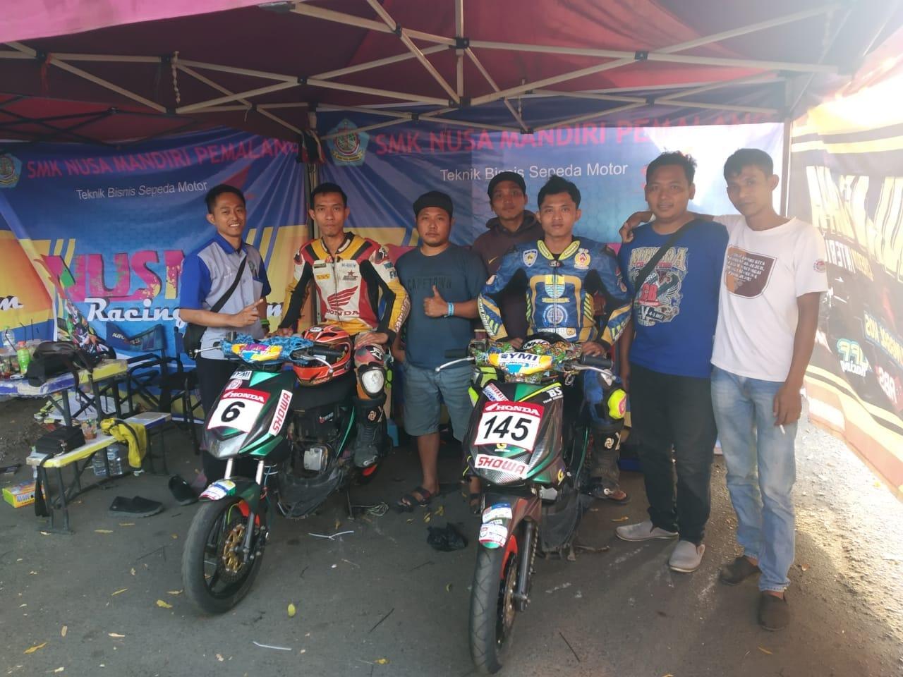 SMK Nusa Mandiri Bentuk Tim Balap Motor