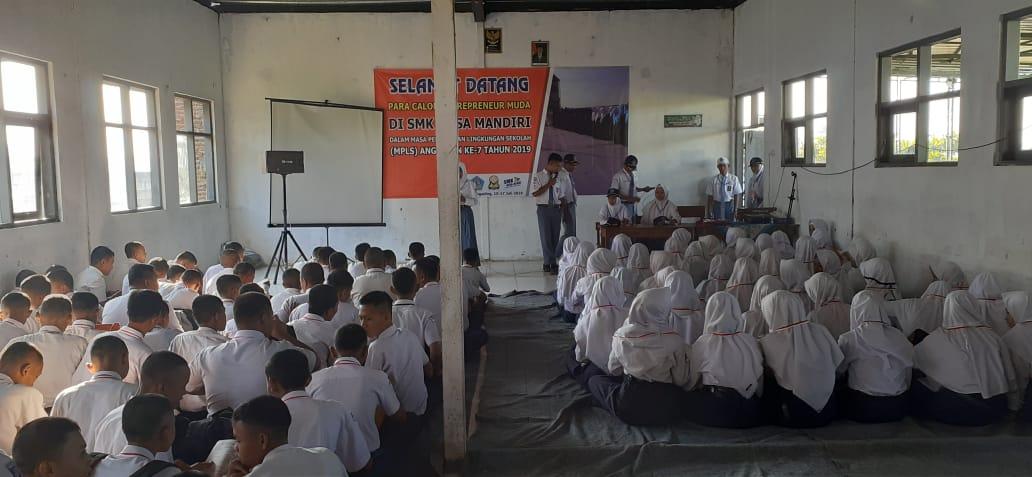 380 peserta didik Baru SMK Nusa Mandiri Ikuti MPLS