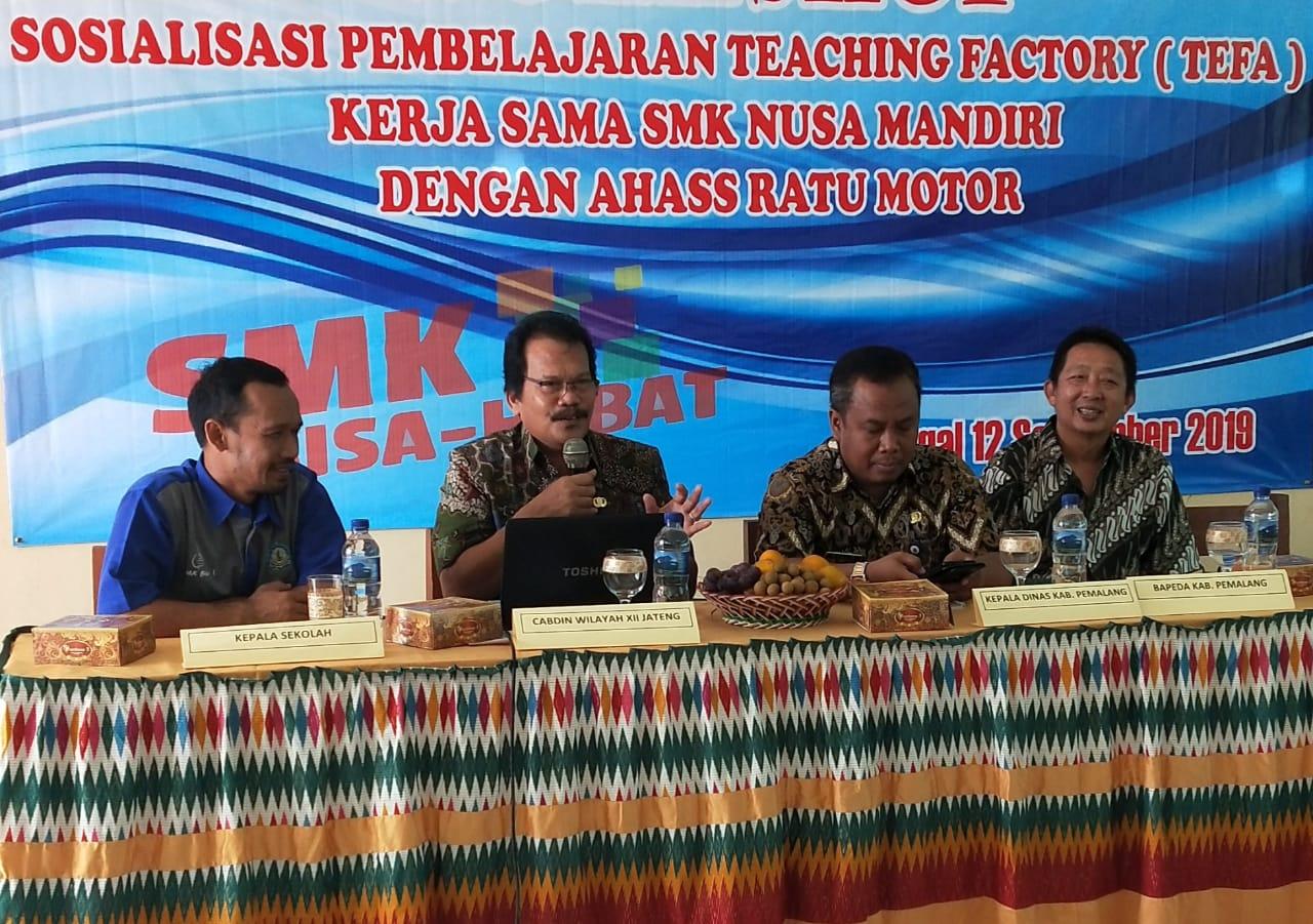 Teaching Factory Siapkan Peserta Didik Sesuai Kebutuhan Industri