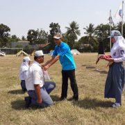 kemah bakti osis SMK Nusa Mandiri 2019