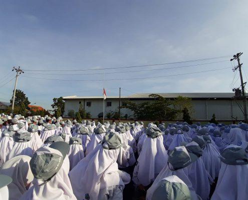 SMK Nusa Mandiri Gelar Upacara Kesaktian Pancasila
