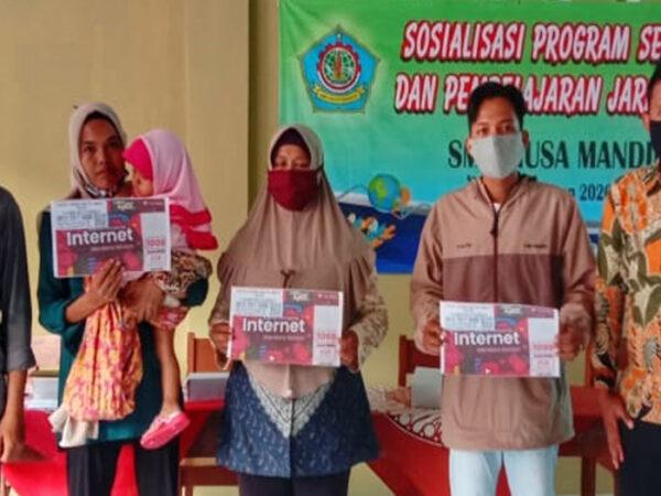 Sosialisasi Belajar Dari Rumah