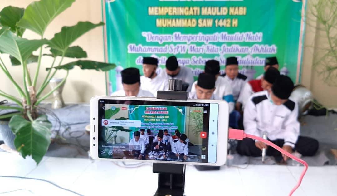 Peringatan Maulid Nabi SMK Nusa Mandiri Secara Daring